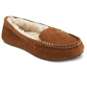 🛍️ New Genuine Suede Slippers Sz 6